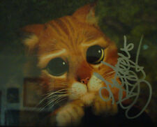 """AUTOGRAPHED ANTONIO BANDARAS PHOTO AS """"PUSS IN BOOTS'  IN THE HIT SHRECK MOVIES!"""