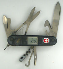Victorinox Voyager Swiss Army knife, New Boxed, retired with clock & alarm #3314