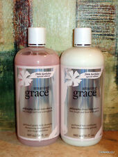 Philosophy AMAZING GRACE Gentle Daily SHAMPOO & CONDITIONER SET 16 oz Each