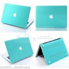 TURQUOISE Protective Hard Shell Case Cover Skin For Apple Macbook Pro 15 15.4 ""