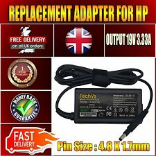 For HP 14-B110SA Notebook PC Replacement 3.33A AC Adapter Charger UK