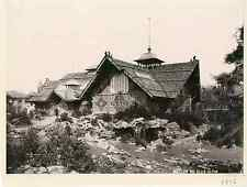 Suisse, Genève, pavillon du club alpin  Vintage printExposition nationale Suis