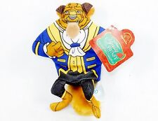 """Disney 6"""" Beanbag Plush Toy, """"Beauty and the Beast ~ Enchanted Christmas"""" w/Tag"""