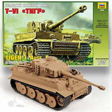 ZVEZDA 1/35 TIGER 1 AUSF.E EARLY PRODUCTION TANK FEATURED IN NOV FSM WORKBENCH