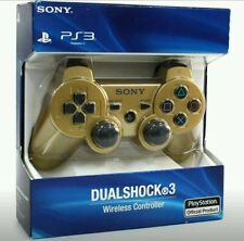 Brand New SEALED Sony Playstation 3 PS3 Dualshock 3 Wireless Controller -  GOLD