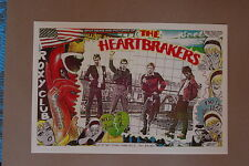 The Heartbreakers Concert Tour Poster 1977 Roxy Club