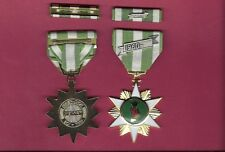 RVN Vietnam Campaign medal with ribbon bar with 60 device Domed Version