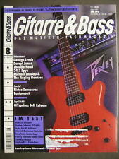 GITARRE & BASS 1995 # 8 - GEORGE LYNCH DARRYL JONES RICHIE SAMBORA EQUIPMENT