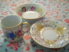 Antique Old Paris Porcelain Tea Cup Saucer Bowl France Handmade Handpainted