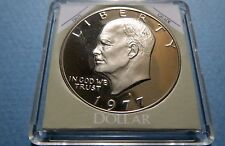 """S-PROOF   1977S  EISENHOWER DOLLAR/LIBERTY BELL """"S-PROOF""""Uncirculated COIN #3"""