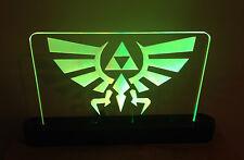 Legend of Zelda Triforce LED Lighted Acrylic Sign