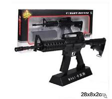 M4A1 Sniper Rifle Display model, scale 1/3 (L=28cm), Metal and plastic, Black A