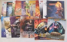 Lot Of ( 17 ) Different Magic The Gathering Fat Pack Players Guide Books