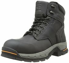 """Timberland PRO Mens 6 """" Stockdale Grip Max Alloy Toe BootBlack Microfbr 10."""