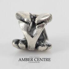 Genuine Trollbeads Silver Charm Letter Y 11144Y RRP£25!!!