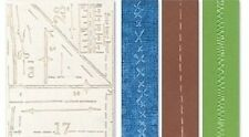 TIM HOLTZ EMBOSSING FOLDERS PATTERNS & STITCHES REDUCED