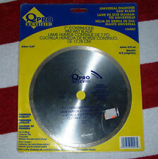 "*Q PRO CERTIFIED* 7"" tile flooring QEP Wet Saw Blade Premium Diamond 5/8"" arbor"