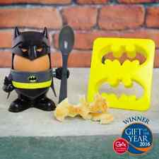 Official Licensed Batman Egg Cup and Toast Cutter Gift Set Breakfast DC Comics