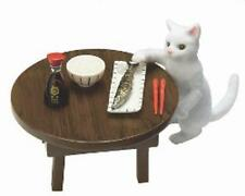 Re-ment miniature Cat Diary I Want to Eat Fish  breakfast table puchi neko