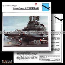 #016.15 DASSAULT BREGUET SUPER ETENDARD - Fiche Avion Airplane Card