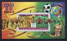s5294) COMORES 1978 MNH** WC Football - Coppa Mondo Calcio S/S