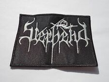 STERBEND EMBROIDERED LOGO SUICIDAL BLACK METAL PATCH