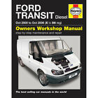 Ford Transit 2.0 2.4 Diesel 2000-06 (X to 56 Reg) Haynes Manual