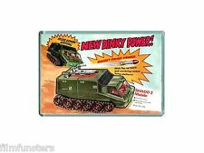 NOSTALGIA - TV21 COMIC UFO SHADO MOBILE DINKY TOYS ADVERT - JUMBO FRIDGE MAGNET