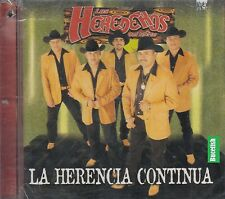 Los Herederos Del Norte La Herencia Continua CD New Nuevo