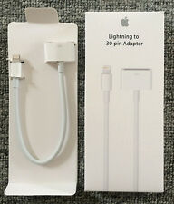 Genuine Apple MD824ZM/A Lightning to 30-Pin Adapter For iphone/ipad/ipod