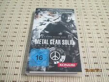 Metal Gear Solid Peace Walker für Sony PSP *OVP*