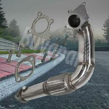 """B/D SERIES 2.5"""" T3/T4 5 BOLTS TURBO CHARGER S/S DOWNPIPE W/GASKET INTEGRA DC2"""