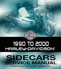 1990 TO 2000 HARLEY-DAVIDSON SIDECAR SERVICE MANUAL -TLE-RLE-TLE ULTRA-SIDECARS