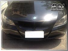 Matte Black Front Grille Kit For 2005-2008 BMW E90 Model 320i 328i 335i Sedan