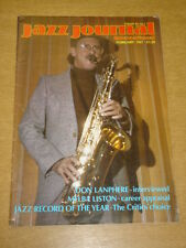 JAZZ JOURNAL INTERNATIONAL VOL 40 #2 1987 FEBRUARY DON LANPHERE MELBA LISTON