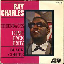 """RAY CHARLES """"COME BACK BABY"""" 60'S EP ATLANTIC 212.051"""
