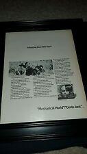 Spirit Mechanical World Rare Original Promo Poster Ad Framed!