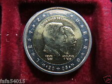 2 EURO COMMEMORATIVE LUXEMBOURG 2005 DISPONIBLE TOUT DE SUITE Henri & Adolphe