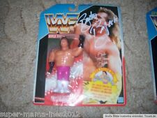 WWF Hasbro personaggio wrestling Brutus Beefcake OVP MOC SIGNED SPAIN CARD DWA Live
