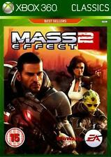 MASS EFFECT 2 XBOX 360 REGION FREE SEALED NEW