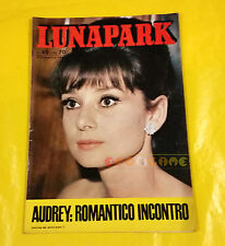 LUNA PARK 1965 n. 49 Audrey Hepburn, Gianni Morandi, Geraldine Chaplin