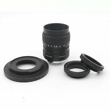 FUJIAN 25mm f/1.4 c mount cctv f1.4 lens for Canon EOS M EF-M Mirrorless Camera