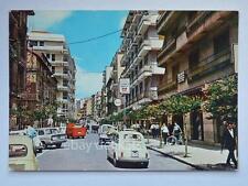 COSENZA Corso Mazzini Fiat 500 animata vecchia cartolina