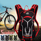 Cycling Bike Hydration Backpack Rucksack Water Pack Helmet Hiking Shoulder Bag