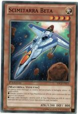 Scimitarra Beta YU-GI-OH! SDCR-IT015 Ita COMMON 1 Ed.