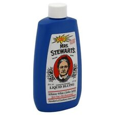 Mrs. Stewart's Liquid Bluing -- 8 oz.; Stewarts Salt Crystal Laundry Blueing