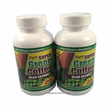 2 BOT PURE SUPER GREEN COFFEE BEAN EXTRACT CHLOROGENIC ACID 800 mg MARITZMAYER