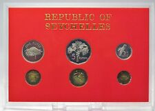 KMS Seychellen 1982 in PP / Seychelles Coinage Proof Collection 1982