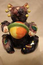 "Whimsiclay Figurine ""GALAXY"" of Saturn #21051 retired 2002 w/tag & box"