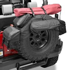 "Bestop RoughRider® Diamond Spare Tire Organizer 34""- 37"" 54134-35 Black Jeep"